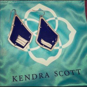 Kendra Scott Alexandra Earrings in Black